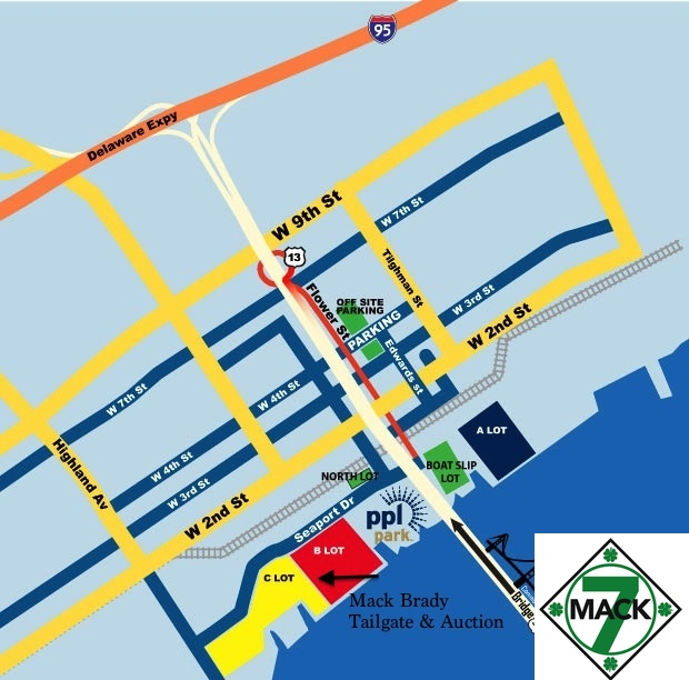 2011 Parking Map