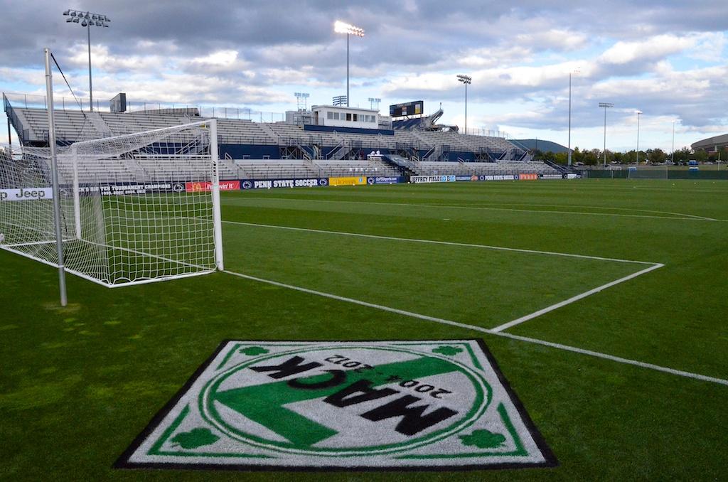 The field is ready.